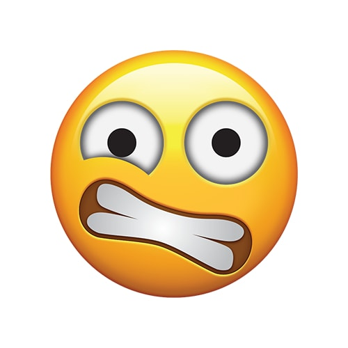 Emoji Request - ClenchedTeethScaredEmoji