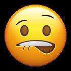 Image result for biting nails emoji